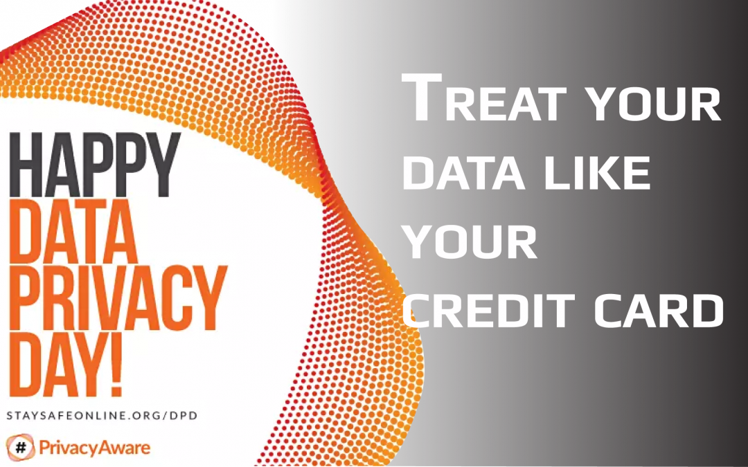 Treat Your Data Like Your Credit Card