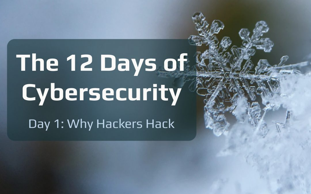 The 12 Days of Cybersecurity
