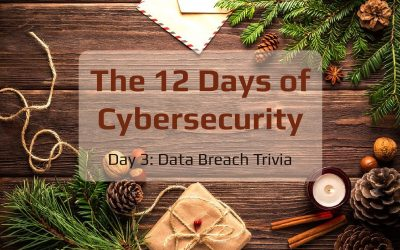 12 Days of Cybersecurity: Day 3