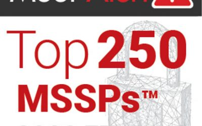 Kyber Security Ranks #107 on the MSSP Alert Top 250 Global MSSP Ranking