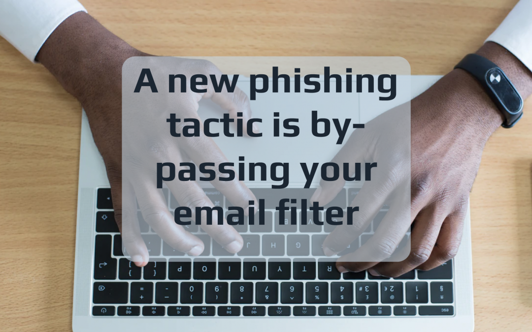 Have Cyber Criminals Outsmarted Email Filtering?